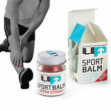 Ultimate Performance Max Strength Pro Sports Heat Rub Pain Relief Muscle Balm