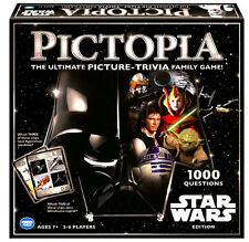 STAR WARS PICTOPIA Trivia Family Game BRAND NEW