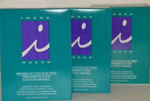 Image Maker Perm Variable Action Acid Perm Superior Curl Formation (3 pk)