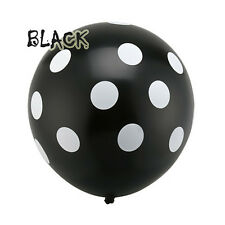 "10Pcs 12""/30cm Polka Dots Spots Balloons For Birthday Party Festival Decoration"