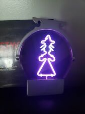 Christmas Elf Witch Neon Light Sign Window Display Hanging Artwork 9×8 New