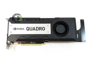 DELL nVidia Quadro K6000 PCIE x16 2xDVI / 2xDP 900-52081-0151-000 N5WM9