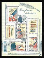Bloc Feuillet 2016 N°F5098 Timbres France Neufs - Les Plumes d'écriture