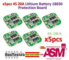 5pcs 4S 14.8V / 16.8V 20A Peak Li-ion BMS PCM Battery Protection Board
