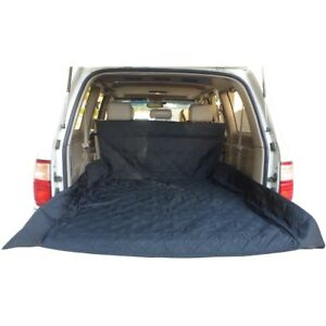 """Deluxe Quilted and Padded Cargo Liner in Black - One Size Fits All 52"""" W x 93""""L"""