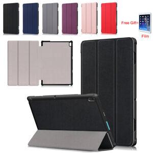 Stand Flip PU Leather Protective Case + Film For 10.1'' Lenovo Tab E10 TB-X104F