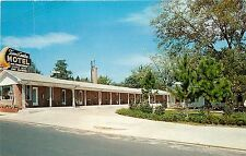Hawkinsville, Georgia, GA, Town & Country Motel, US Hwy. 341, Vtg Postcard a4370