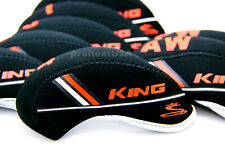 New 10 pcs Neoprene Golf Iron Headcovers for Cobra King Protective Head Cover US