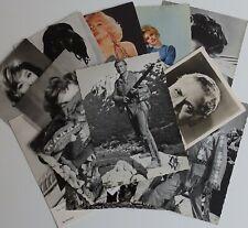 Konvolut von 14 Autogrammkarten / Fotokarten  interessant  ansehen  lohnt