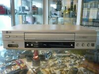 LG VCR VHS VIDEO CASSETTE RECORDER (GC480W) NTSC PLAYBACK + LONG PLAY & REC