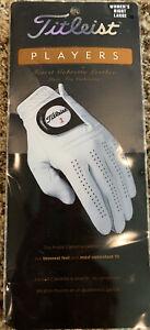 NIP Titleist Player Ladies Golf Glove Right Large