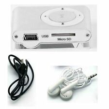 Mini MP3 Audio Player Support 2GB/4GB/8GB/16GB MICRO SD Card With Earphone