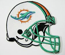 LOT OF (1) NFL MIAMI DOLPHINS HELMET PATCH PATCHES (TYPE B) ITEM # 23