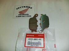 HONDA BRAKE PAD SET REAR  VTR1000F SUPER HAWK VTX1300 C R S T