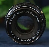 Nice Asahi Opt. SMC PENTAX- M 50mm F2 Prime Standard  Lens