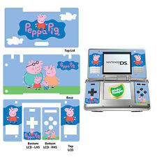 Peppa Pig - Vinyl Skin Sticker for Nintendo DS Original