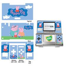 PEPPA Pig-Vinile Autoadesivo per Nintendo DS Originale