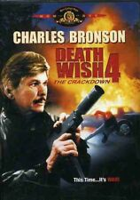 Death Wish 4: The Crackdown [New DVD] Repackaged, Subtitled, Standard Screen