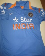 MS Dhoni  (Mahendra Singh Dhoni) signed India ODI Cricket Shirt + COA