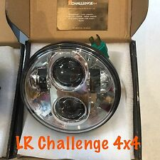 "Universal 5.75"" 14.5cm moto led head light e marqué bright"