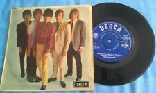 THE ROLLING STONES, FIVE BY FIVE, 1964 UNBOXED DECCA EP, BEAT,  VG. PLAYS BETTER