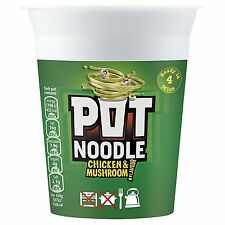 Pot Noodle Chicken and Mushroom 90G Pack of 12