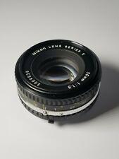 "Nikon Series E 50mm f/1.8 AIS Manual Focus ""Pancake"" Lens"