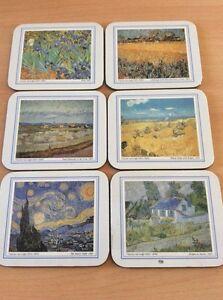 6 Van Gough Coasters