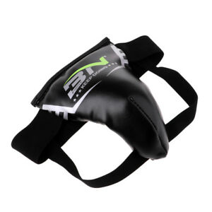 Pro Groin Guard Protector MMA Cup Boxing Muay Thai for Kids Children S Black