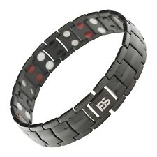 New magnetic bracelet men 4 elements balance energy stress arthritis pain relief