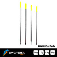 """WAGGLER FISHING FLOATS The Kingfisher """"Roundhead"""" Pack of 4"""