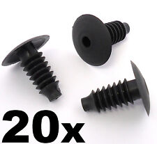20x BMW Plastic Trim Plug Clip- For upholstery, trunk & boot linings