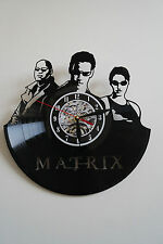 The Matrix-2 design vinyl record wall clock bedroom playroom home art office sho