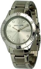 Pierre Cardin fantastico reloj de cuarzo Ø 37mm metalluhrband