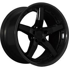 4 - 18x8.5 Black Wheel XXR 569 5x4.5 38