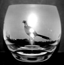 More details for pheasant frieze boxed crystal glass tea light holder