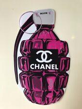 "Death NYC Official STICKER Graffiti Painting Pop Art 1 piece ""CC Bomb Pink"""