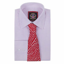 Checked Double Cuff Big & Tall Formal Shirts for Men