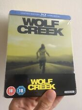 WOLF CREEK - UK EXCLUSIVE BLU RAY STEELBOOK - NEW & SEALED Limited Edition