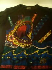 New listing sz. M. T shirt hang ten psychedelic shark