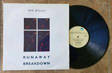 "400 Blows Runaway Breakdown 12"" 1985 Illuminated 12 Lev 64 Vg+/Vg+ Synth Pop"