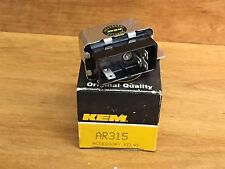 NOS KEM AR315 ACCESSORY RELAY Standard Motor Products RY118 FREE SHIPPING