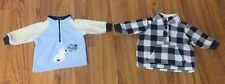 Two Carter's Sweatshirts 0-3 Months