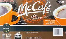 McDonalds McCafe Coffee 100% Arabica Premium Medium Roast Keurig K-Cup, 84 Pods