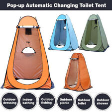 Pop Up Privacy Shower Tent Portable Outdoor Camp Toilet Changing Dressing Room