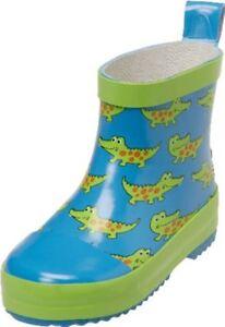 Playshoes Baby Kinder Mädchen Stiefel Gummistiefel Schuhe Krokodil Gr. 18 bis 27