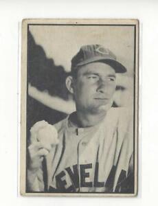 1953 Bowman Black and White #27 Bob Lemon Indians - LOW GRADE