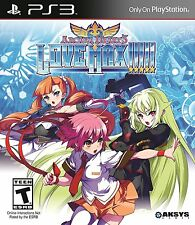 Arcana Heart 3: Love Max [PlayStation 3 PS3, Updated 2D Anime Fighting Game] NEW