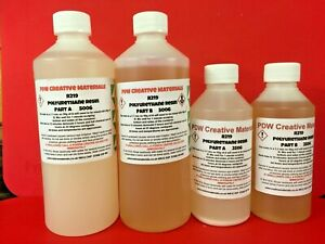 Polyurethane Casting Resin Liquid Plastic (White) Low Odour PDW R219