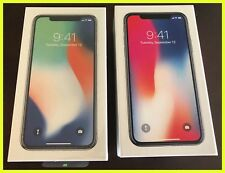NEW Apple iPhone X Silver 256 GB GSM A1901 Factory Unlocked - SHIPS IMMEDIATELY!